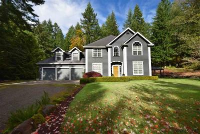 Scio Single Family Home For Sale: 41659 Rodgers Mountain Lp