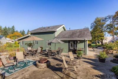 Salem Single Family Home Active Under Contract: 9225 Fellowship Av