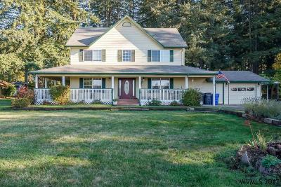 Stayton Single Family Home Active Under Contract: 41133 Huntley Rd