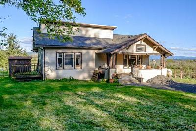 Scio Single Family Home For Sale: 38310 Highway 226