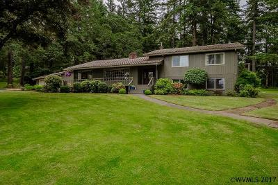 Salem Single Family Home For Sale: 6746 Battle Creek Rd
