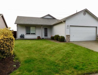 Keizer Single Family Home Active Under Contract: 1447 Trent Av