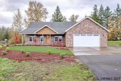 Scio Single Family Home Active Under Contract: 37690 Gilkey Rd