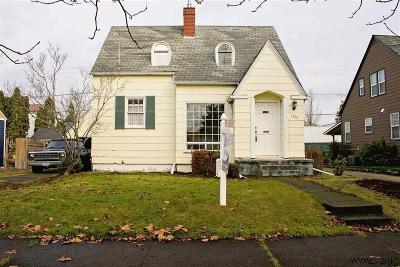 Salem Single Family Home For Sale: 1395 Jefferson St