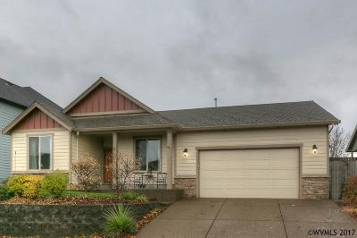 Salem Single Family Home Active Under Contract: 2854 Wing Tip Av