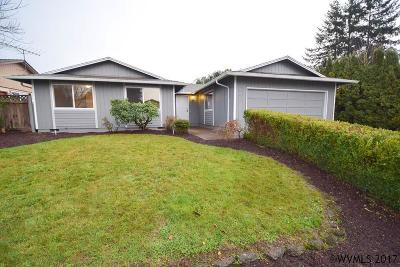 Keizer Single Family Home Active Under Contract: 1642 Carilor Ct