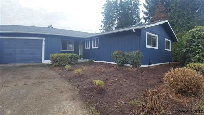 Salem OR Single Family Home Active Under Contract: $250,000