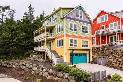 Lincoln City Single Family Home For Sale: 2459 SW Anenome Av