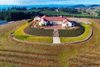 Salem Single Family Home For Sale: 2171 Bunker Ridge Rd