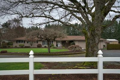 Stayton Single Family Home Active Under Contract: 17073 Old Mehama Rd