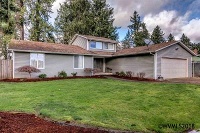 Keizer Single Family Home Active Under Contract: 8295 Wheatland Rd