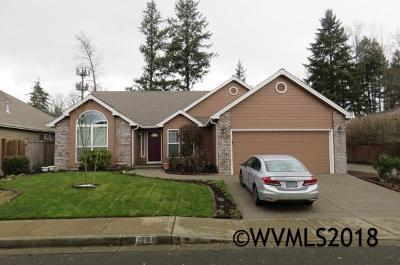 Keizer Single Family Home Active Under Contract: 1139 Chardonnay Lp