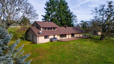 Salem Single Family Home For Sale: 3935 Oak Knoll Rd
