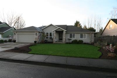 Keizer Single Family Home Active Under Contract: 1190 Prairie Grass Av