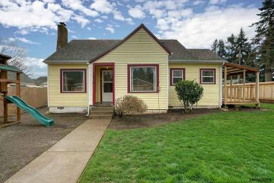 Keizer Single Family Home Active Under Contract: 1410 Shady Ln