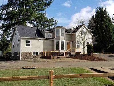 Salem Single Family Home For Sale: 4705 Battle Creek Rd