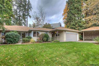 Salem Single Family Home For Sale: 3929 Pringle Rd