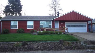 Keizer Single Family Home Active Under Contract: 4729 13th Av
