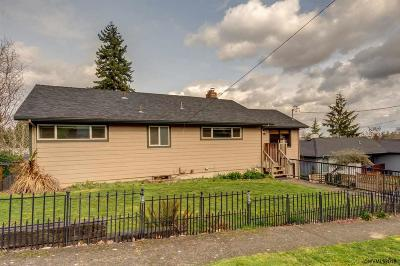 Salem OR Single Family Home Active Under Contract: $275,000