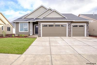 Aumsville Single Family Home For Sale: 9927 Willamette (Lot #2) St