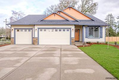Aumsville Single Family Home For Sale: 9938 Deer (Lot #8) St