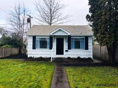 Salem OR Single Family Home For Sale: $167,500