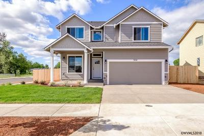 Aumsville Single Family Home For Sale: 390 Makayla (Lot #7) St