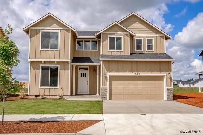 Aumsville Single Family Home For Sale: 9947 Deer (Lot #11) St
