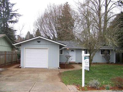 Salem Single Family Home For Sale: 1872 Madrona Ct