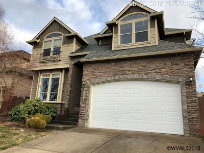 Salem Single Family Home For Sale: 2737 Islander Av