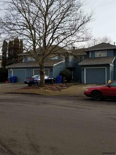 Salem OR Multi Family Home Active Under Contract: $350,000