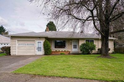 Salem OR Single Family Home Active Under Contract: $215,000