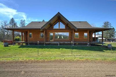 Scio Single Family Home Active Under Contract: 36124 Richardson Gap Rd