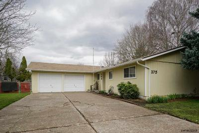 Keizer Single Family Home Active Under Contract: 375 Stark St