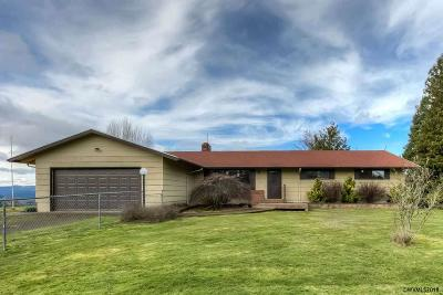 Monmouth Single Family Home For Sale: 13100 Fishback Rd