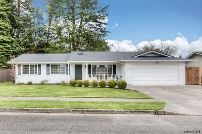 Stayton Single Family Home Active Under Contract: 1540 4th Av