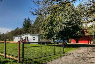 Turner Single Family Home For Sale: 14347 Duckflat Rd
