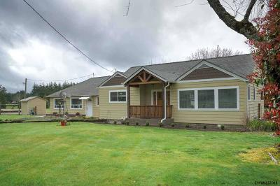 Stayton Single Family Home Active Right Of Refusal: 18374 Old Mehama Rd