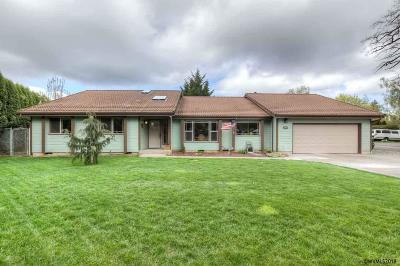 Keizer Single Family Home Active Under Contract: 1975 Chemawa Rd