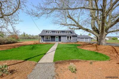 Scio Single Family Home For Sale: 39215 Highway 226
