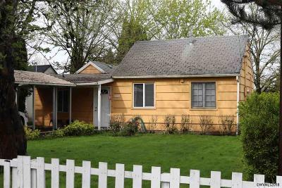 Salem Single Family Home Active Under Contract: 2049 Evergreen Av
