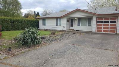 Keizer Single Family Home Active Under Contract: 4785 18th Av