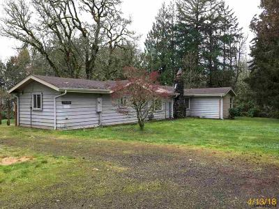 Stayton Single Family Home For Sale: 16084 Old Mehama Rd