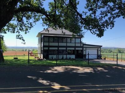 Scio Single Family Home For Sale: 39726 Miller Cemetery Rd