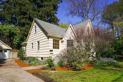 Salem Single Family Home For Sale: 1605 Summer St