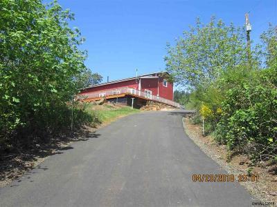 Salem Single Family Home For Sale: 8678 Skyline Rd