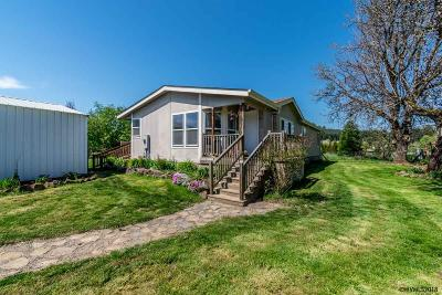 Monmouth Manufactured Home Active Under Contract: 39142 Kings Valley Hwy