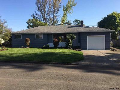 Salem Single Family Home For Sale: 3660 Manor Dr