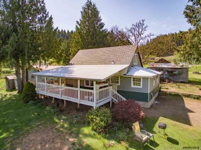 Sweet Home Single Family Home For Sale: 28600 Jones Dr