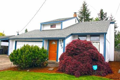 Monmouth Single Family Home Active Under Contract: 1087 Clay St